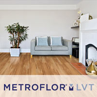 Revolutionary technology in LVT from Metroflor available at Sommers Interiors in Jefferson City!