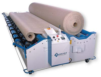 Accu-Cut carpet cutting machine