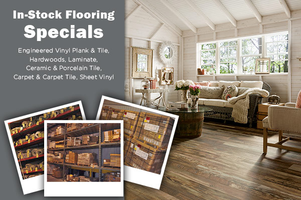 In-Stock Flooring Specials at Sommers Interiors in Jefferson City, Missouri